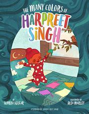 THE MANY COLORS OF HARPREET SINGH by Supriya Kelkar
