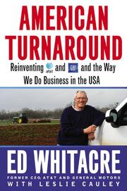 AMERICAN TURNAROUND by Ed Whitacre