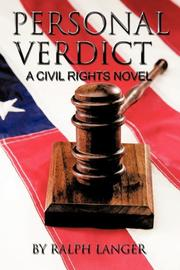 PERSONAL VERDICT by Ralph Langer
