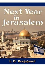 NEXT YEAR IN JERUSALEM by L.D. Bergsgaard