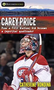 CAREY PRICE by Catherine Rondina