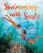 SWIMMING WITH SEALS by Maggie deVries