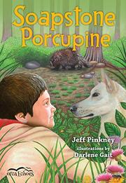 SOAPSTONE PORCUPINE by Jeff Pinkney
