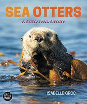 SEA OTTERS by Isabelle Groc
