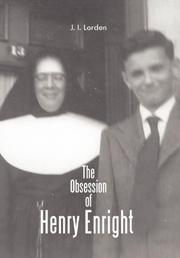 THE OBSESSION OF HENRY ENRIGHT by J. I. Lorden