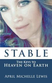 STABLE by April Michelle  Lewis