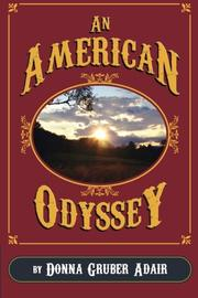 AN AMERICAN ODYSSEY by Donna Gruber Adair