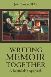 Writing Memoir Together by Joan Tornow