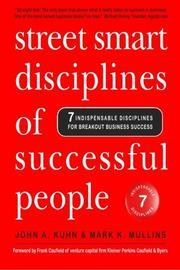STREET SMART DISCIPLINES OF SUCCESSFUL PEOPLE by John A. Kuhn