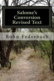 SALOME'S CONVERSION by Rohn Federbush
