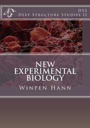 NEW EXPERIMENTAL BIOLOGY by Winpen Hann