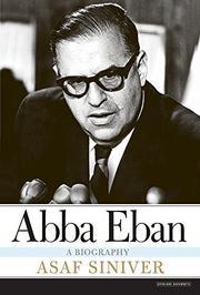ABBA EBAN by Asaf Siniver