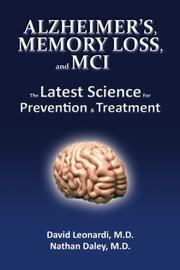 Book Cover for ALZHEIMER'S, MEMORY LOSS, AND MCI