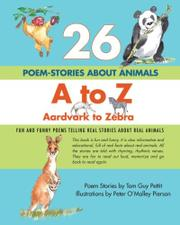 26 POEM-STORIES ABOUT ANIMALS by Tom Guy Pettit
