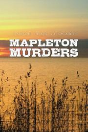 MAPLETON MURDERS by Sarah Jean Stewart