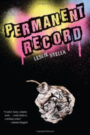 Book Cover for PERMANENT RECORD