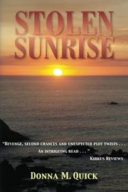 Cover art for STOLEN SUNRISE