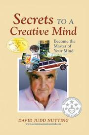 Book Cover for SECRETS TO A CREATIVE MIND