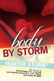 Book Cover for BODY BY STORM