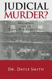 JUDICIAL MURDER? by Dayle K. Smith