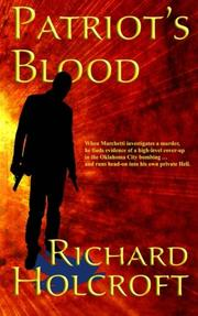 Patriot's Blood by Richard Holcroft