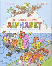 AN EXCESSIVE ALPHABET by Judi Barrett