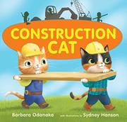 CONSTRUCTION CAT by Barbara Odanaka