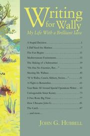 Writing for Wally by John G. Hubbell