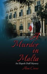 A MURDER IN MALTA by Ann Crew