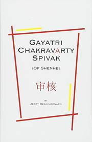 Gayatri Chakravarty Spivak by Jerry Dean Leonard