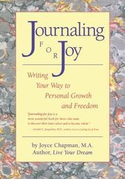 Journaling For Joy by Joyce Chapman