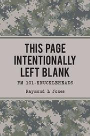 This Page Intentionally Left Blank  by Raymond L Jones