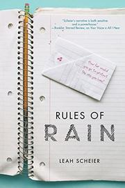 RULES OF RAIN by Leah Scheier