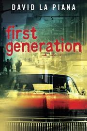 FIRST GENERATION by David La Piana