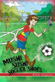MUSHI SUSHI SOCCER SHOES by Nikki Simpson