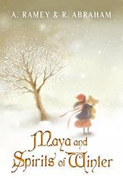 MAYA AND SPIRITS OF WINTER by Albina Ramey