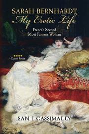 Sarah Bernhardt: My Erotic Life. Cover