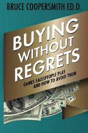 BUYING WITHOUT REGRETS by Bruce Coopersmith