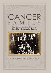 Cancer Family by C. Richard Boland