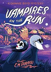 VAMPIRES ON THE RUN by C.M. Surrisi