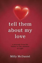 TELL THEM ABOUT MY LOVE by Milly McDaniel