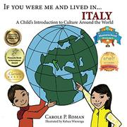 If You Were Me and Lived in ...Italy by Carole P. Roman