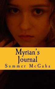 Myrian's Journal by Summer McGaha