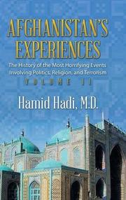 Afghanistan's Experiences - Vol. 1 by Hamid Hadi