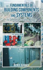 FUNDAMENTALS OF BUILDING COMPONENTS AND SYSTEMS by Denis Rudnev