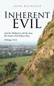 INHERENT EVIL by John  Bathgate
