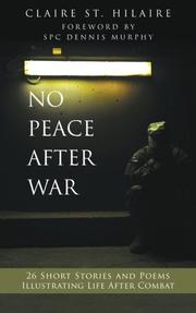 No Peace After War Cover