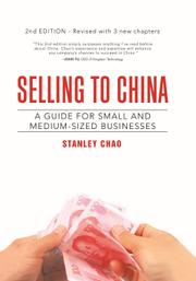 SELLING TO CHINA by Stanley Chao