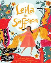 LEILA IN SAFFRON by Rukhsanna Guidroz