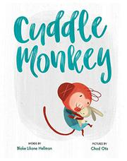 CUDDLE MONKEY by Blake Liliane Hellman